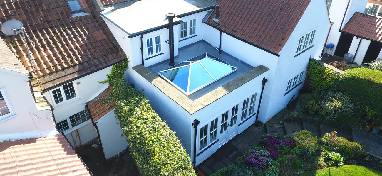 RLM conservatory roof lanterns installer
